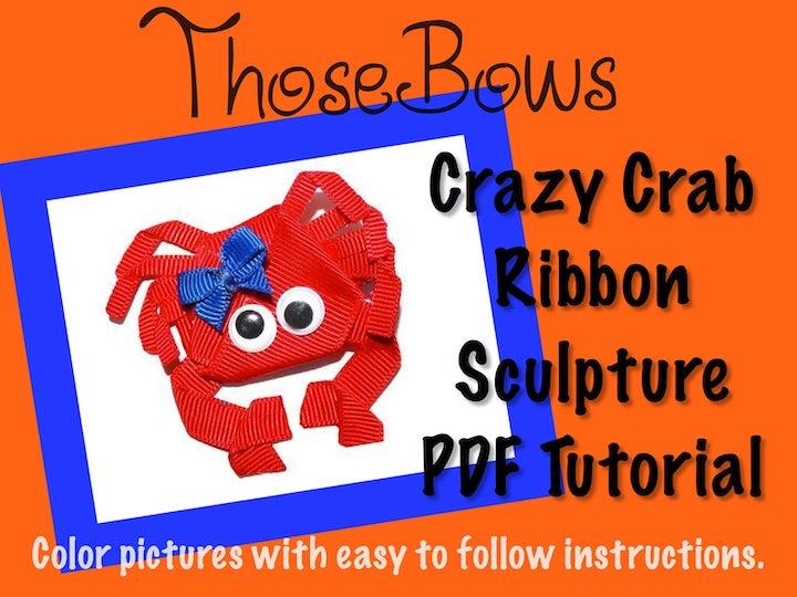 Crab Ribbon Sculpture