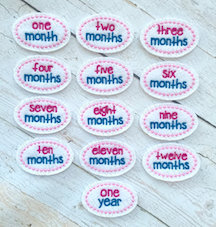 Oval Month set