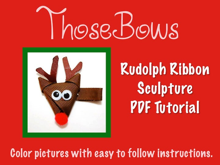 Rudolph Ribbon Sculpture