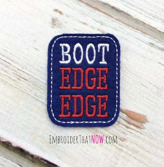 Boot Edge