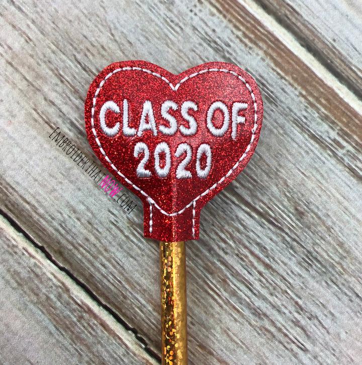 2020 Pencil Topper