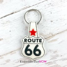 Route 66 Snap Tab